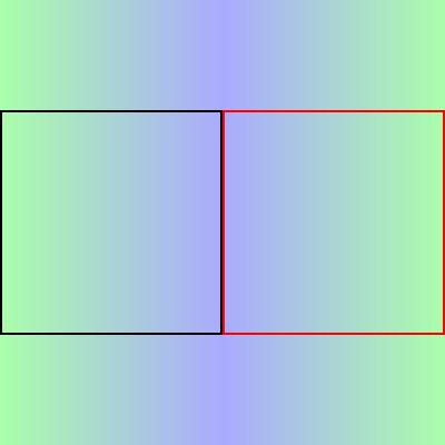 アニメーション開始位置と終了位置