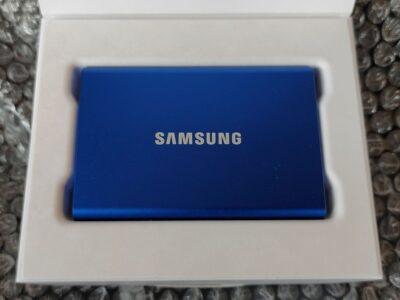 Samsung T7 開封